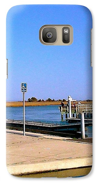 Galaxy Case featuring the photograph Sea Gulls Watching Over The Wetlands by Amazing Photographs AKA Christian Wilson