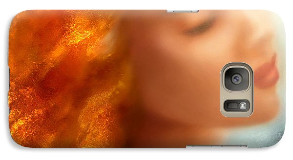 Galaxy Case featuring the painting Sea Nymph Dream by Michael Rock
