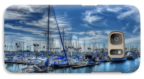 Galaxy Case featuring the photograph Sea Of Blue by Kevin Ashley
