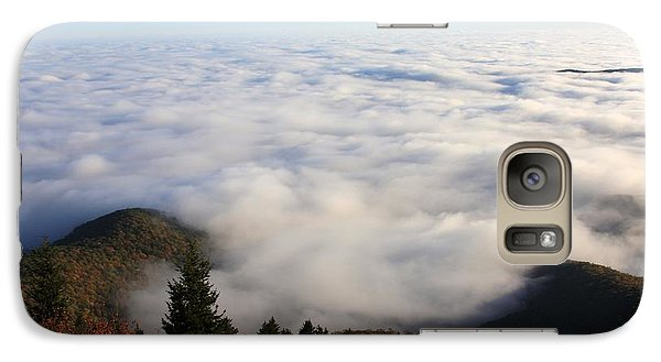 Galaxy Case featuring the photograph Sea Of Clouds On The Blue Ridge Parkway by Mountains to the Sea Photo