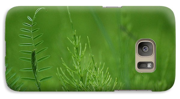 Galaxy Case featuring the photograph Sea Of Green by Bianca Nadeau