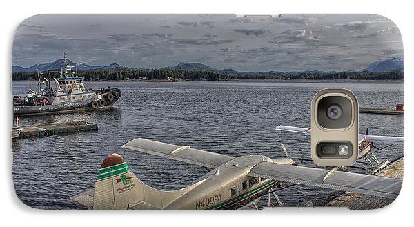 Galaxy Case featuring the photograph Sea Planes by Timothy Latta