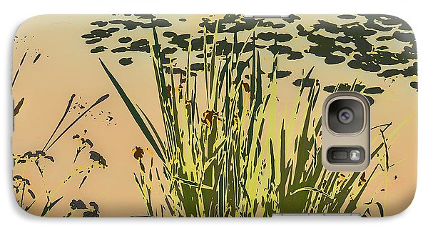 Galaxy Case featuring the photograph Sea Plants Abstract by Leif Sohlman