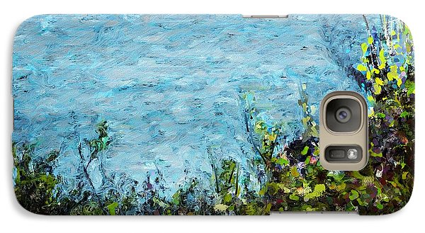 Galaxy Case featuring the digital art Sea Shore 1 by David Lane