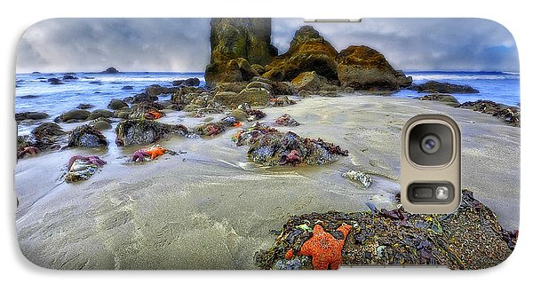 Galaxy Case featuring the photograph Sea Stars by Thomas Born