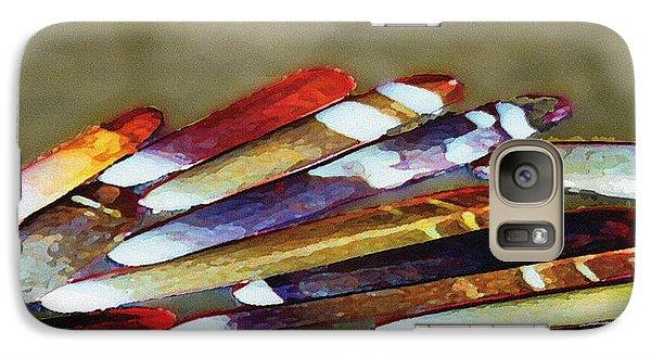 Galaxy Case featuring the digital art Sea Stings by David Klaboe