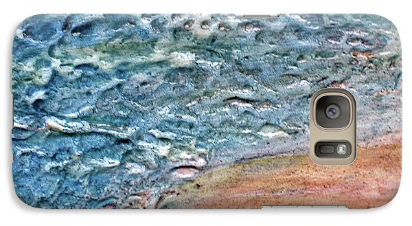 Galaxy Case featuring the painting Sea Study by D Renee Wilson