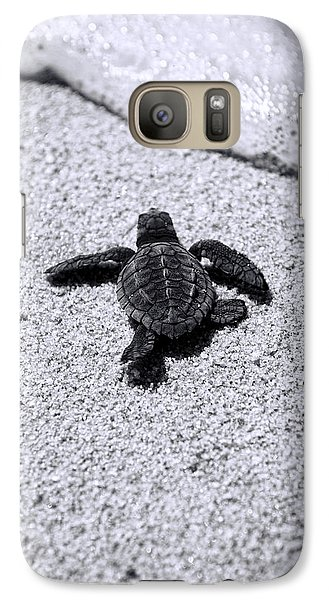 Sea Turtle Galaxy S7 Case by Sebastian Musial