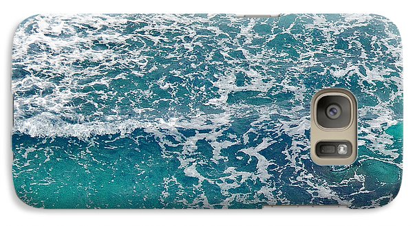 Galaxy Case featuring the photograph Sea View by Liz  Alderdice