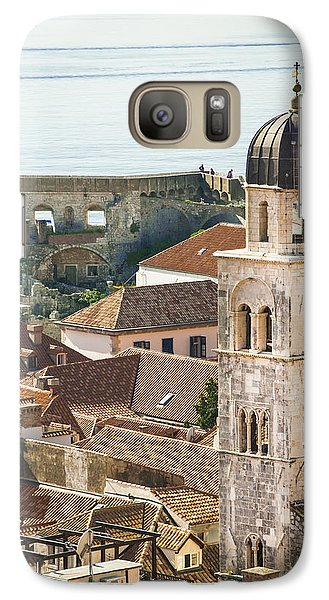 Galaxy Case featuring the photograph Sea View by Phyllis Peterson