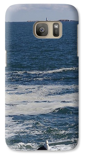 Galaxy Case featuring the photograph Seabreeze. by Robert Nickologianis