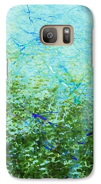 Galaxy Case featuring the digital art Seagrass by Darla Wood