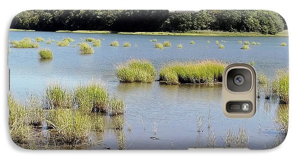 Galaxy Case featuring the photograph Seagrass by Ed Weidman