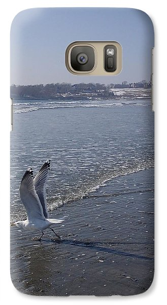Galaxy Case featuring the photograph Seagull 1 by Robert Nickologianis