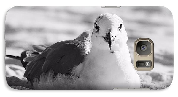 Galaxy Case featuring the photograph Seagull by Elizabeth Budd