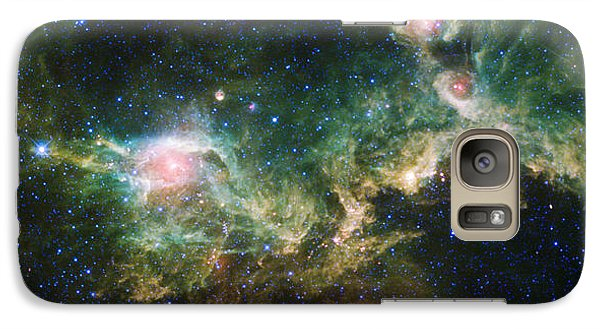 Seagull Nebula Galaxy S7 Case by Adam Romanowicz