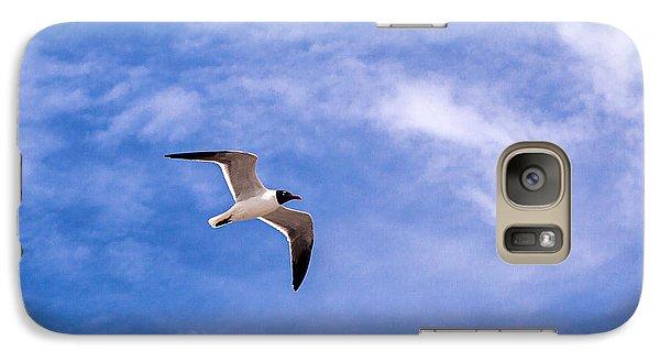 Galaxy Case featuring the photograph Seagull by Sennie Pierson