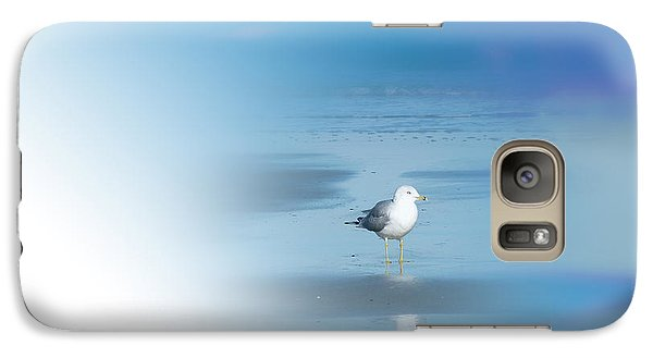 Galaxy Case featuring the photograph Seagull Standing Photo by Frank Bright