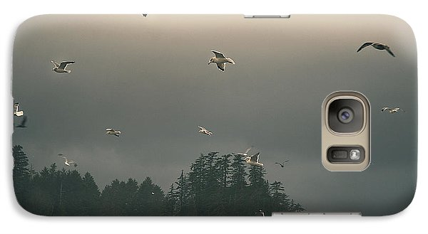 Seagulls In A Storm Galaxy S7 Case