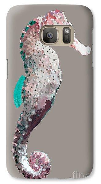 Galaxy Case featuring the digital art Seahorse by Megan Dirsa-DuBois