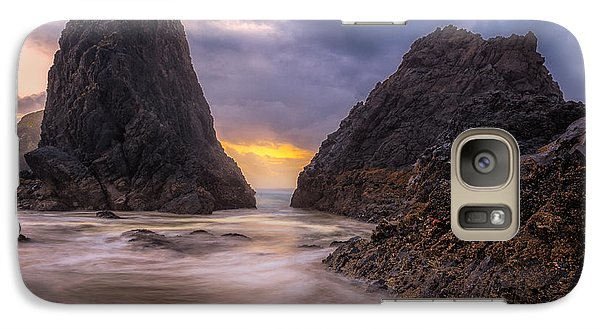 Galaxy Case featuring the photograph Seal Rock 2 by Jacqui Boonstra