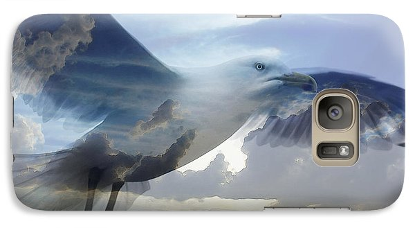 Searching The Sea - Seagull Art By Sharon Cummings Galaxy S7 Case