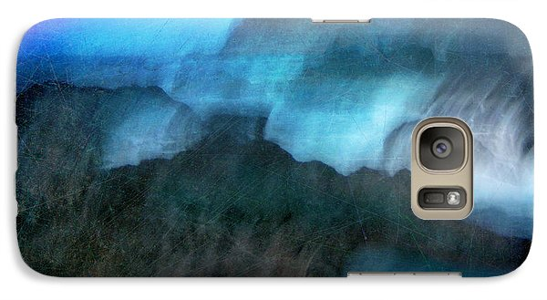 Galaxy Case featuring the photograph Seascape #9 -bay's Dusk- by Alfredo Gonzalez