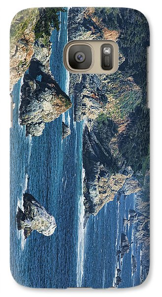 Galaxy Case featuring the photograph Seascape On Ca Highway 1 by Gregory Scott