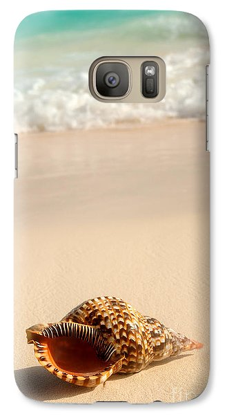 Seashell And Ocean Wave Galaxy S7 Case
