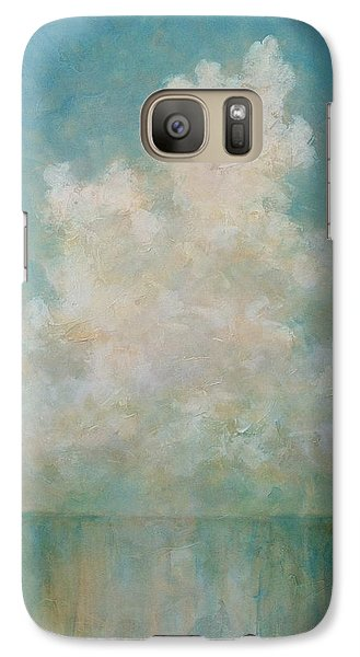 Galaxy Case featuring the painting Seaside by Pam Talley