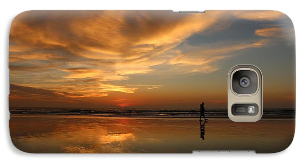 Galaxy Case featuring the photograph Seaside Reflections by Christy Pooschke