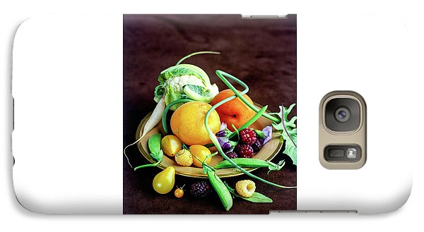 Seasonal Fruit And Vegetables Galaxy S7 Case