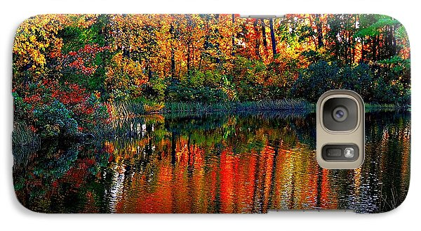 Galaxy Case featuring the photograph Seasons by Allen Beilschmidt