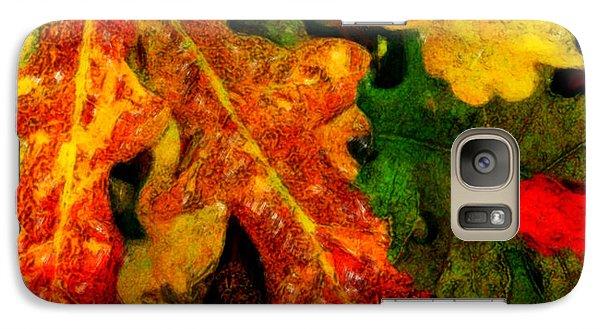 Galaxy Case featuring the digital art Season's End by Chuck Mountain