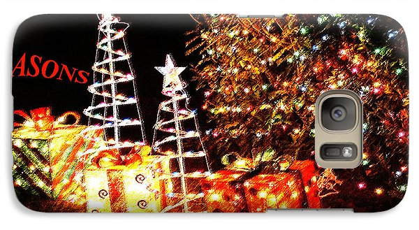 Galaxy Case featuring the photograph Seasons Greetings Card by Gary Brandes