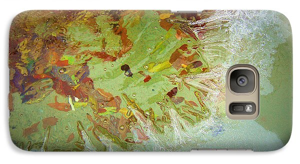 Galaxy Case featuring the photograph Seasons Merging by Heidi Manly
