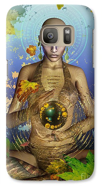 Galaxy Case featuring the digital art Seasons Of The Soul by Shadowlea Is