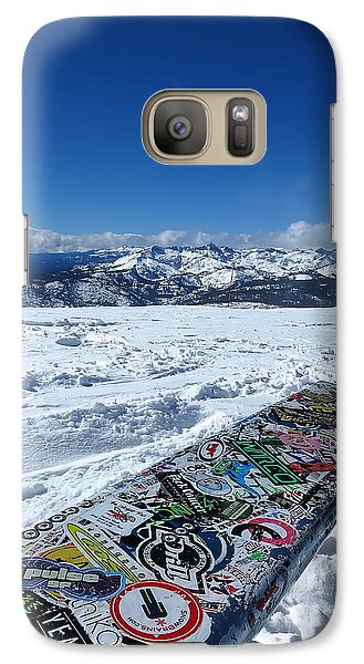 Galaxy Case featuring the photograph Seat At The Top Of The World by Paul Foutz