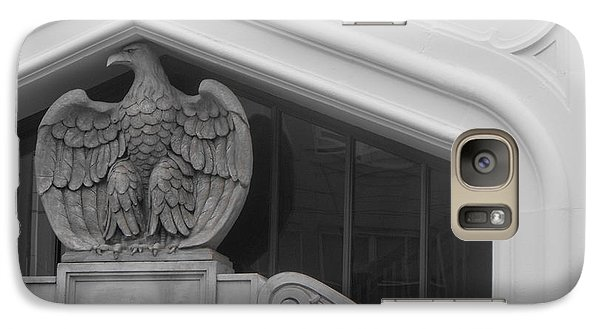Galaxy Case featuring the photograph Seated Eagle by Adria Trail