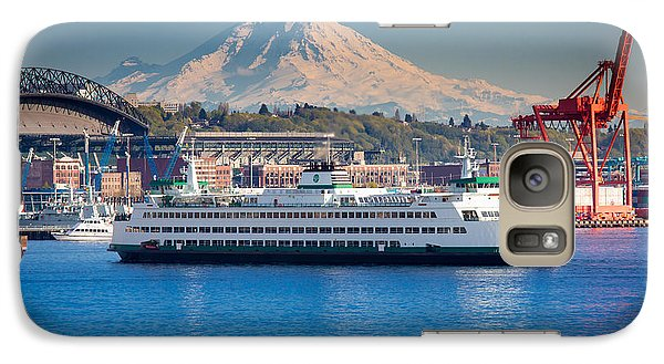 Seattle Harbor Galaxy S7 Case by Inge Johnsson