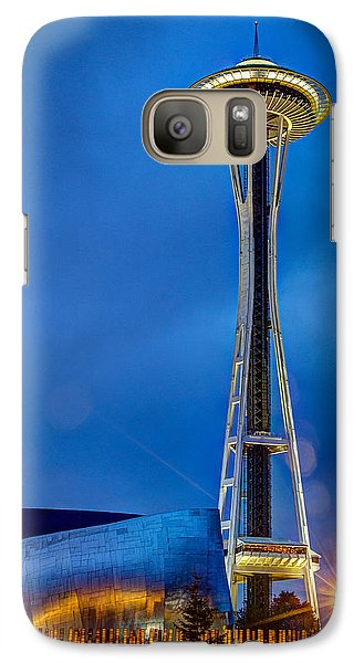 Galaxy Case featuring the photograph Seattle Impressions by Wade Brooks
