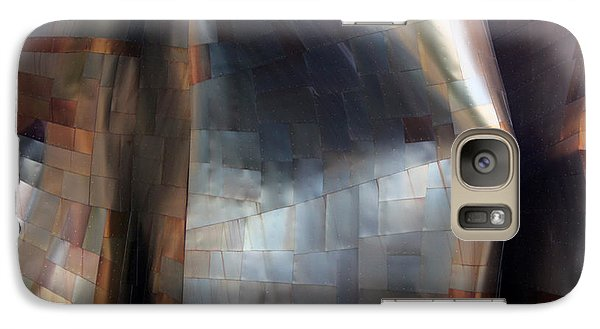 Galaxy Case featuring the photograph Seattle Museum Exterior Wall by Gerry Bates