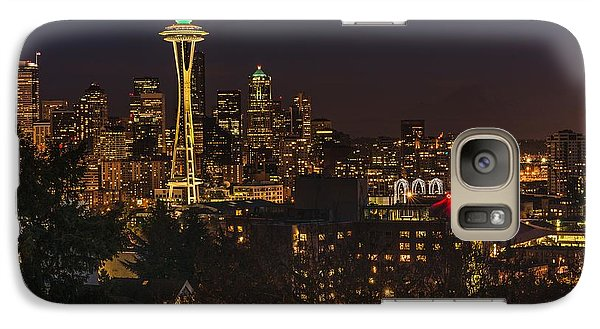 Seattle Night Lights Galaxy S7 Case