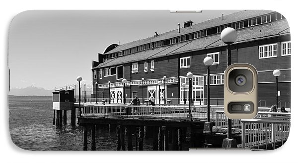 Galaxy Case featuring the photograph Seattle Pier by Kirt Tisdale
