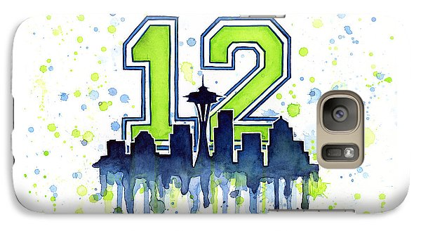 Seattle Seahawks 12th Man Art Galaxy S7 Case