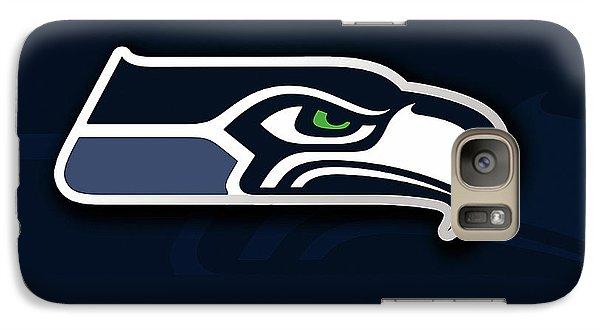 Seattle Seahawks Galaxy Case by Marvin Blaine