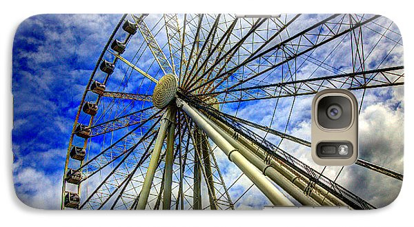 Seattle's Great Wheel Galaxy S7 Case