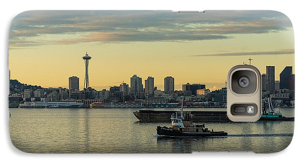 Seattles Working Harbor Galaxy S7 Case by Mike Reid