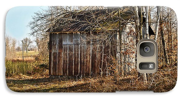 Galaxy Case featuring the photograph Secluded Barn by Greg Jackson
