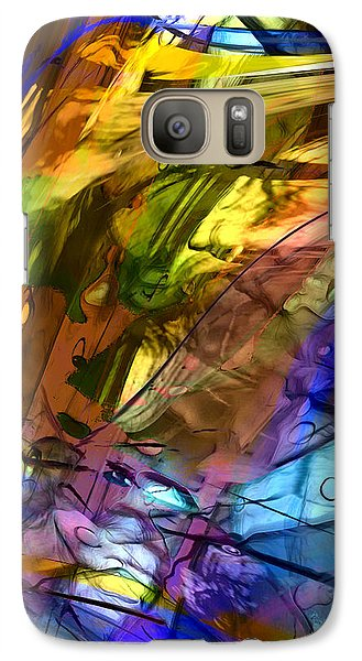 Galaxy Case featuring the painting Secret Animal by Richard Thomas